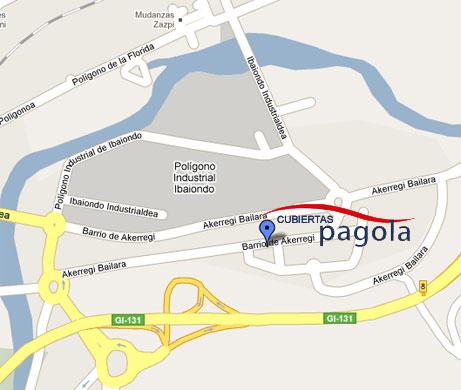 Mapa de Pagola